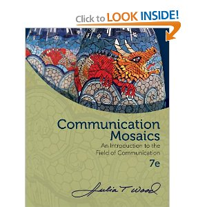 self reflection on interpersonal communication by julia t wood Rent interpersonal communication 8th edition (978-1285445830) today, or search our site for other textbooks by julia t wood.